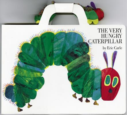 The Very Hungry Caterpillar Giant Board Book and Plush Package By Carle, Eric